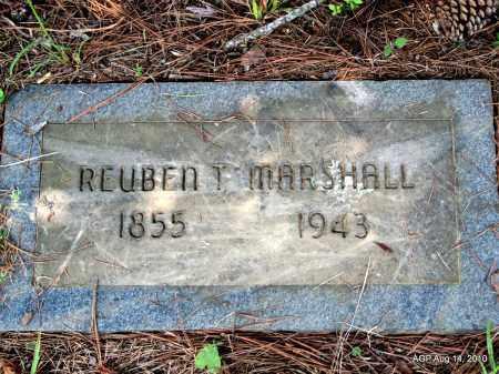 MARSHALL, REUBEN T - Grant County, Arkansas | REUBEN T MARSHALL - Arkansas Gravestone Photos