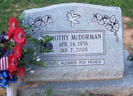 MCDORMAN, TIMOTHY - Grant County, Arkansas | TIMOTHY MCDORMAN - Arkansas Gravestone Photos