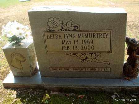 MCMURTREY, DETRA LYNN - Grant County, Arkansas | DETRA LYNN MCMURTREY - Arkansas Gravestone Photos