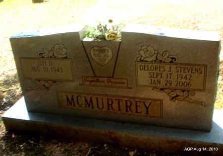 STEVENS MCMURTREY, DELORES J - Grant County, Arkansas | DELORES J STEVENS MCMURTREY - Arkansas Gravestone Photos