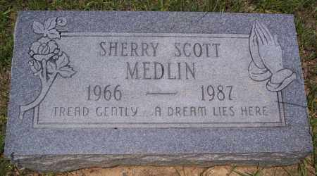 MEDLIN, SHERRY - Grant County, Arkansas | SHERRY MEDLIN - Arkansas Gravestone Photos