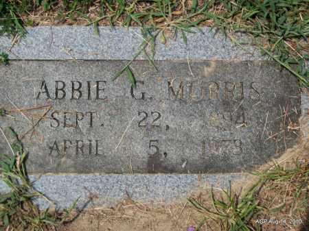 MORRIS, ABBIE G - Grant County, Arkansas | ABBIE G MORRIS - Arkansas Gravestone Photos