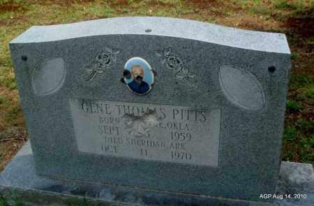 PITTS, GENE THOMAS - Grant County, Arkansas | GENE THOMAS PITTS - Arkansas Gravestone Photos