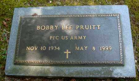 PRUITT (VETERAN), BOBBY LEE - Grant County, Arkansas | BOBBY LEE PRUITT (VETERAN) - Arkansas Gravestone Photos
