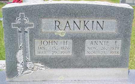RANKIN, ANNIE E - Grant County, Arkansas | ANNIE E RANKIN - Arkansas Gravestone Photos