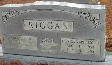 SKORCZ RIGGAN, THERESA MARIE - Grant County, Arkansas | THERESA MARIE SKORCZ RIGGAN - Arkansas Gravestone Photos