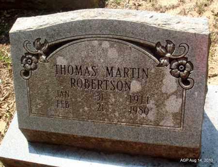 ROBERTSON, THOMAS MARTIN - Grant County, Arkansas | THOMAS MARTIN ROBERTSON - Arkansas Gravestone Photos