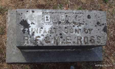 ROSS, BUDDIE - Grant County, Arkansas   BUDDIE ROSS - Arkansas Gravestone Photos