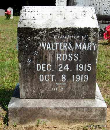 ROSS, MERTIE MARY - Grant County, Arkansas | MERTIE MARY ROSS - Arkansas Gravestone Photos