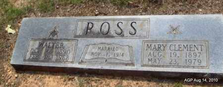 CLEMENT ROSS, MARY - Grant County, Arkansas | MARY CLEMENT ROSS - Arkansas Gravestone Photos