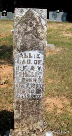 SHELL, ALLIE - Grant County, Arkansas   ALLIE SHELL - Arkansas Gravestone Photos