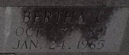 SHELL, BERTHA C (CLOSE UP) - Grant County, Arkansas   BERTHA C (CLOSE UP) SHELL - Arkansas Gravestone Photos