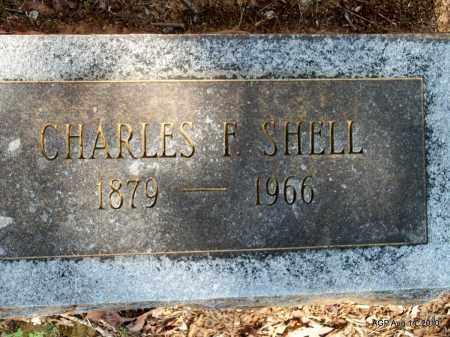 SHELL, CHARLES F - Grant County, Arkansas | CHARLES F SHELL - Arkansas Gravestone Photos