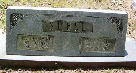 SHELL, ELA - Grant County, Arkansas | ELA SHELL - Arkansas Gravestone Photos