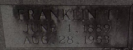 SHELL, FRANKLIN T (CLOSE UP) - Grant County, Arkansas   FRANKLIN T (CLOSE UP) SHELL - Arkansas Gravestone Photos