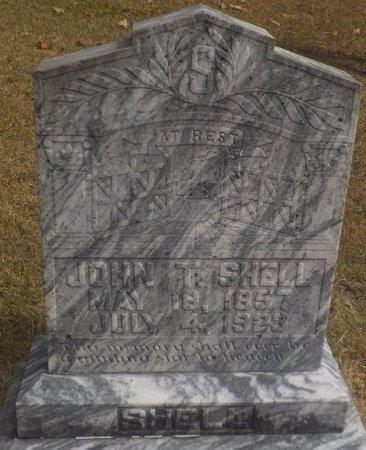 SHELL, JOHN T - Grant County, Arkansas | JOHN T SHELL - Arkansas Gravestone Photos