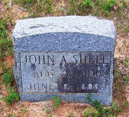 SHELL, JOHN A - Grant County, Arkansas | JOHN A SHELL - Arkansas Gravestone Photos