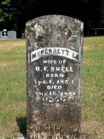 SHELL, MARGARETT E - Grant County, Arkansas   MARGARETT E SHELL - Arkansas Gravestone Photos