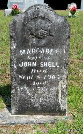 SHELL, MARGARET - Grant County, Arkansas | MARGARET SHELL - Arkansas Gravestone Photos
