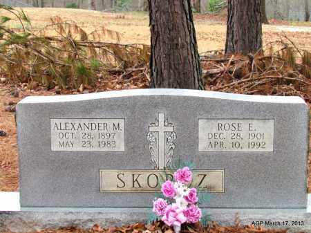 SKORCZ, ALEXANDER M - Grant County, Arkansas | ALEXANDER M SKORCZ - Arkansas Gravestone Photos