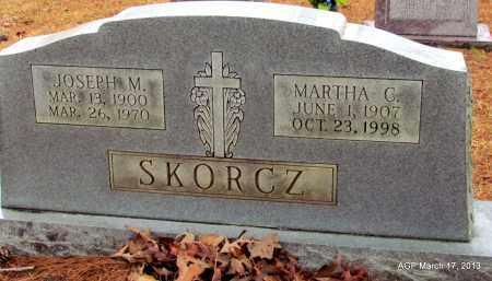 SKORCZ, JOSEPH M - Grant County, Arkansas | JOSEPH M SKORCZ - Arkansas Gravestone Photos