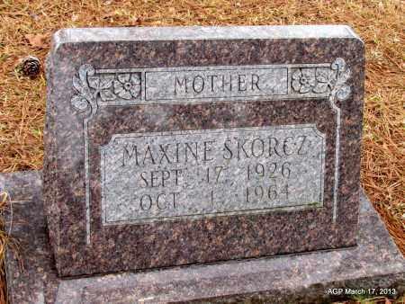 SKORCZ, MAXINE - Grant County, Arkansas | MAXINE SKORCZ - Arkansas Gravestone Photos