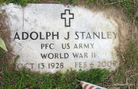 STANLEY (VETERAN WWII), ADOLPH J - Grant County, Arkansas | ADOLPH J STANLEY (VETERAN WWII) - Arkansas Gravestone Photos