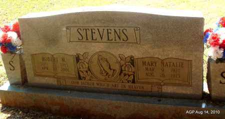 STEVENS, MARY NATALIE - Grant County, Arkansas | MARY NATALIE STEVENS - Arkansas Gravestone Photos