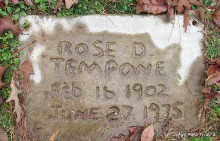 TEMPONE, ROSE D - Grant County, Arkansas | ROSE D TEMPONE - Arkansas Gravestone Photos