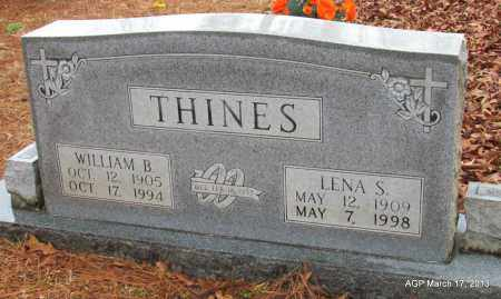 THINES, LENA V - Grant County, Arkansas | LENA V THINES - Arkansas Gravestone Photos