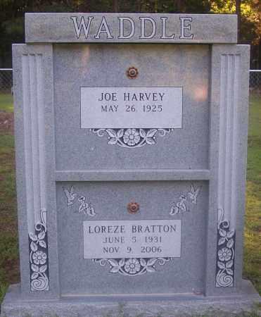 BRATTON WADDLE, LOREZE - Grant County, Arkansas | LOREZE BRATTON WADDLE - Arkansas Gravestone Photos