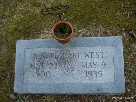 WEST, JOSEPH CARL - Grant County, Arkansas | JOSEPH CARL WEST - Arkansas Gravestone Photos