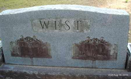 WEST, ELON G - Grant County, Arkansas | ELON G WEST - Arkansas Gravestone Photos