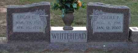 WHITEHEAD, CECILE P - Grant County, Arkansas | CECILE P WHITEHEAD - Arkansas Gravestone Photos