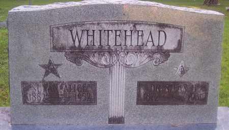 WHITEHEAD, SUSAN ALICE - Grant County, Arkansas | SUSAN ALICE WHITEHEAD - Arkansas Gravestone Photos