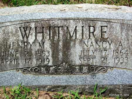 WHITMIRE, HENRY M - Grant County, Arkansas | HENRY M WHITMIRE - Arkansas Gravestone Photos