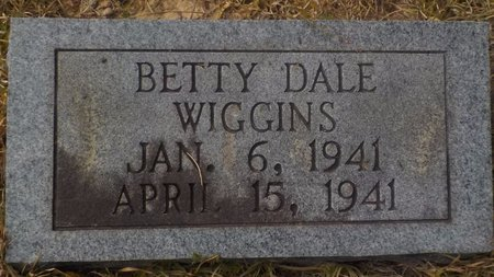 WIGGINS, BETTY DALE - Grant County, Arkansas | BETTY DALE WIGGINS - Arkansas Gravestone Photos