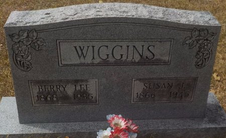 WIGGINS, BERRY LEE - Grant County, Arkansas | BERRY LEE WIGGINS - Arkansas Gravestone Photos