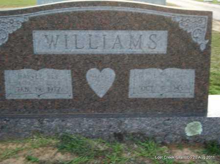 EVERETT WILLIAMS, IRENE - Grant County, Arkansas | IRENE EVERETT WILLIAMS - Arkansas Gravestone Photos
