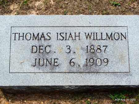 WILLMON, THOMAS ISIAH - Grant County, Arkansas | THOMAS ISIAH WILLMON - Arkansas Gravestone Photos
