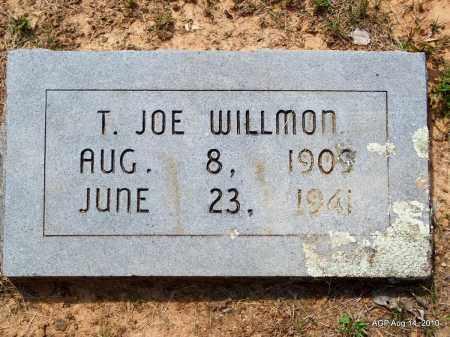 WILLMON, T JOE - Grant County, Arkansas | T JOE WILLMON - Arkansas Gravestone Photos