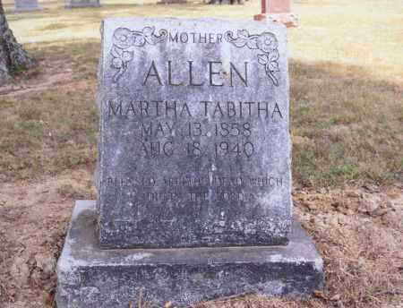 ALLEN, MARTHA TABITHA - Greene County, Arkansas | MARTHA TABITHA ALLEN - Arkansas Gravestone Photos