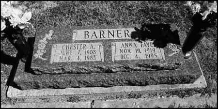 BARNER, CHESTER A. - Greene County, Arkansas | CHESTER A. BARNER - Arkansas Gravestone Photos