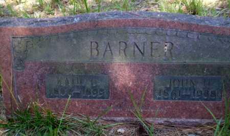 BARNER, JOHN H - Greene County, Arkansas | JOHN H BARNER - Arkansas Gravestone Photos