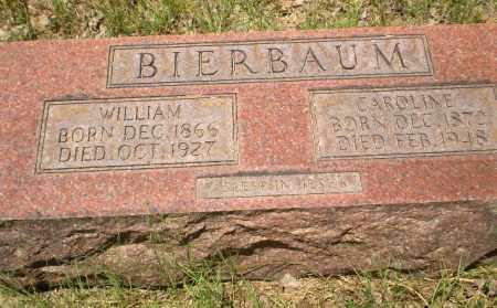 BIERBAUM, CAROLINE - Greene County, Arkansas | CAROLINE BIERBAUM - Arkansas Gravestone Photos
