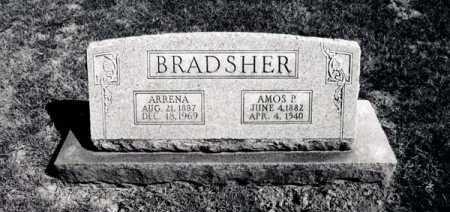 BRADSHER, ARRENA - Greene County, Arkansas | ARRENA BRADSHER - Arkansas Gravestone Photos