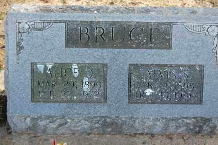 BRUCE, ALVIS S. - Greene County, Arkansas | ALVIS S. BRUCE - Arkansas Gravestone Photos