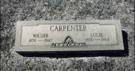 CARPENTER, LUCIE - Greene County, Arkansas   LUCIE CARPENTER - Arkansas Gravestone Photos