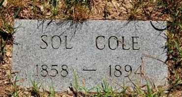 COLE, SOL - Greene County, Arkansas | SOL COLE - Arkansas Gravestone Photos