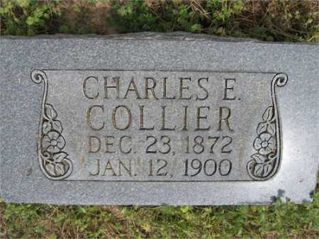 COLLIER, CHARLES E. - Greene County, Arkansas | CHARLES E. COLLIER - Arkansas Gravestone Photos